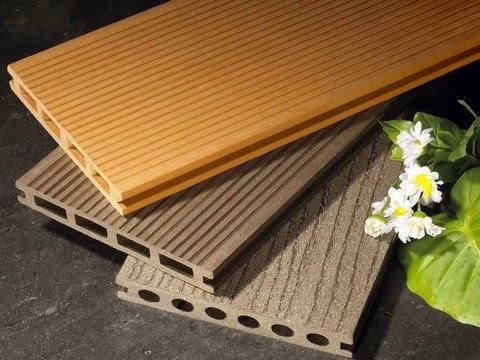 Wood Composite Flooring boat floor with wood plastic composite - youtube