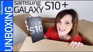 Samsung Galaxy S10+ unboxing -¿el SUPER movil 2019?-