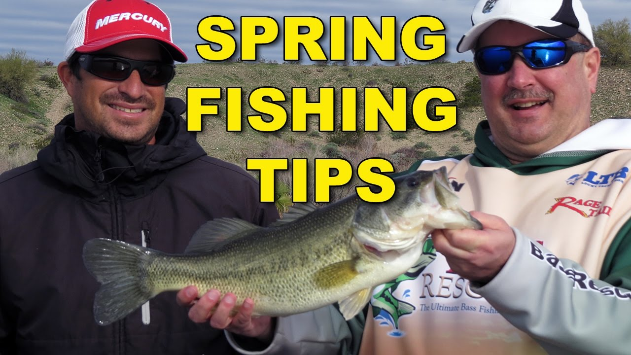 Spring bass fishing tips bass fishing youtube for Youtube bass fishing