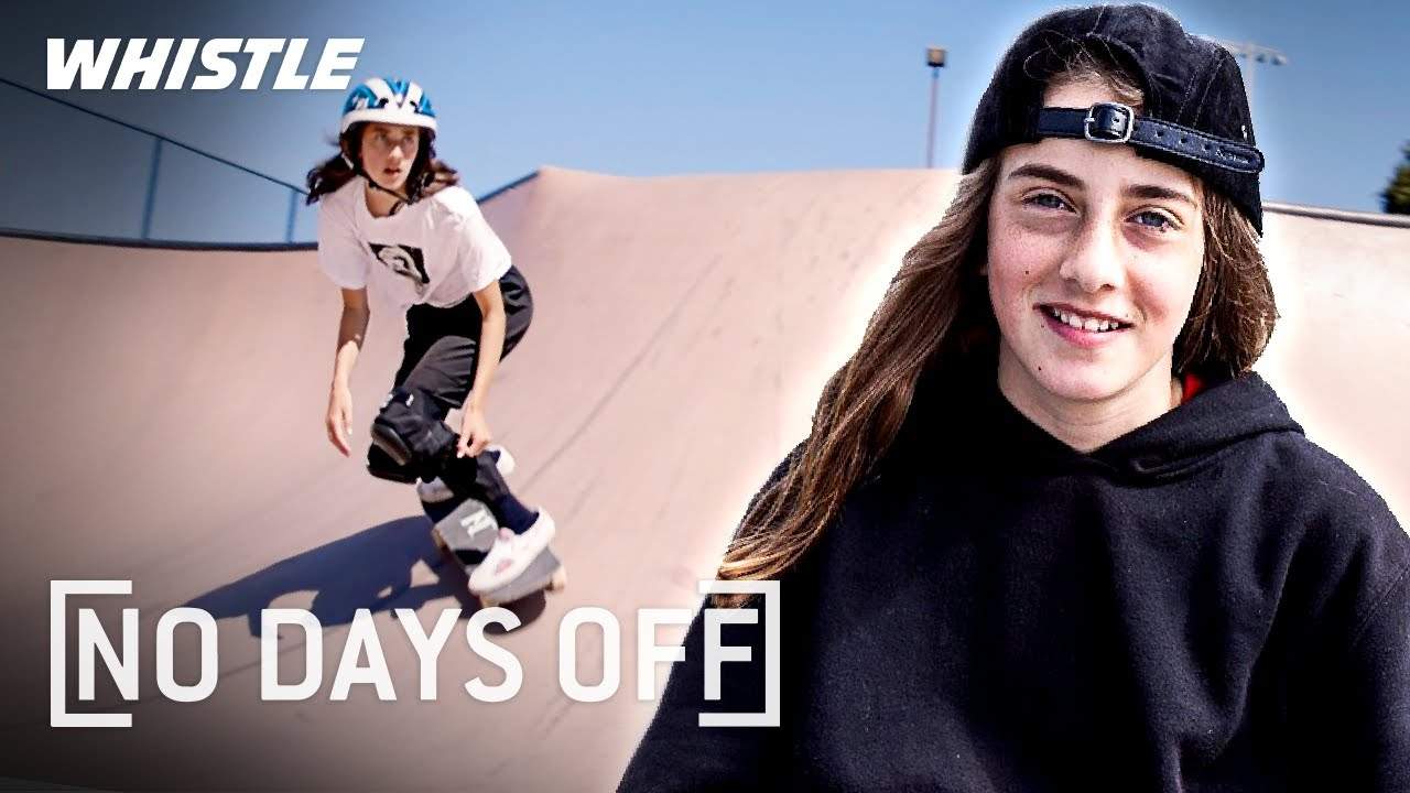 14-Year-Old INCREDIBLE Skateboarding Prodigy | Future Olympic Champ?