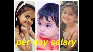 Shocking Per day Salary of Tv child actors