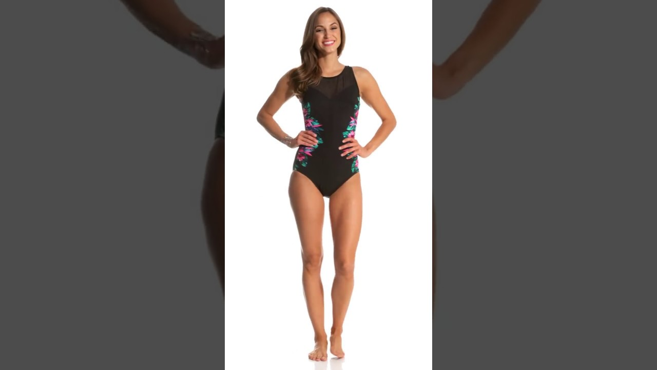 f714eda949f Miraclesuit Tahitian Temptress Fascination Underwire One Piece Swimsuit |  SwimOutlet.com