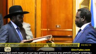 DireTube News S. Sudan's rival leaders ink power-sharing deal in Ethiopia