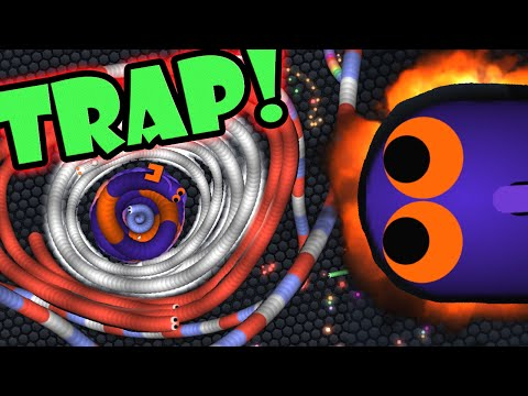SLITHER.IO INSANE TRAPPING! | Slitherio Epic Funny Montage Gameplay! (Slither.io)(NO Mods/bots)