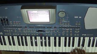 Tere Mere Sapne Ab Ek Rang Hai- Instrumental -Keyboard