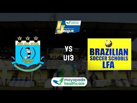 All Star Galapuri vs Brazilian Soccer [Indonesia Junior Mayapada League 2018] [U13] 4-11-2018
