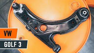 Como substituir a braço inferior de suspensão dianteira no VW GOLF 3 [TUTORIAL]