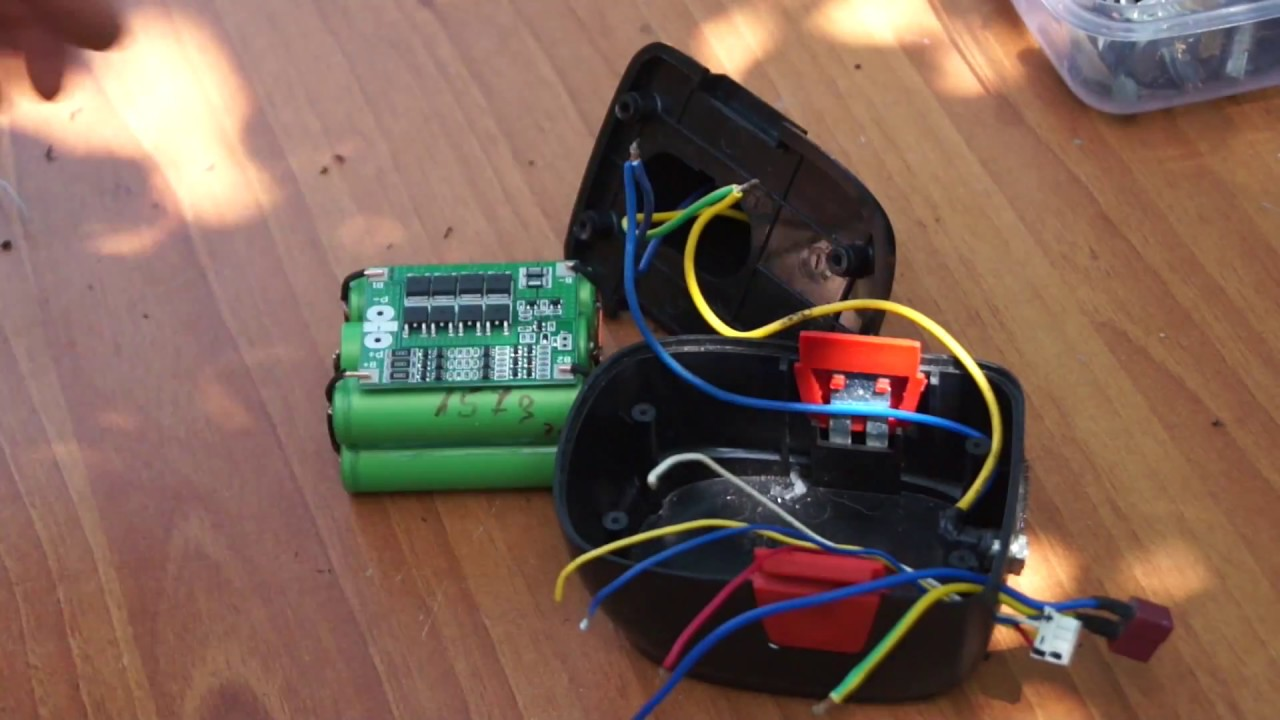 How To Fix Cordless Drill Battery - Simple DIY Project