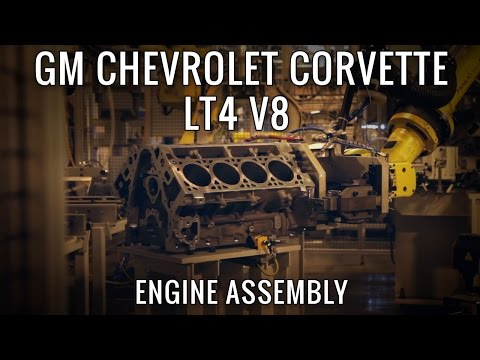 Building GMs most powerful Engine Ever, the 650hp LT4 V8!