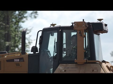 On-Cab Control For Dozer @ Landmark Grading Company Inc.