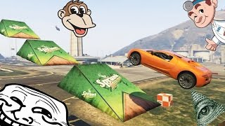 FUNNIEST / HARDEST GTA 5 CHALLENGE (GTA 5 Funny moments)