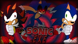 Sonic & Shadow Play SONIC.EXE!? - SCARIEST GAME EVER!?