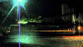 Dashcam Railfan™ Series: Time To Kill at FEC Fort Lauderdale Yard - Friday, October 15, 2010