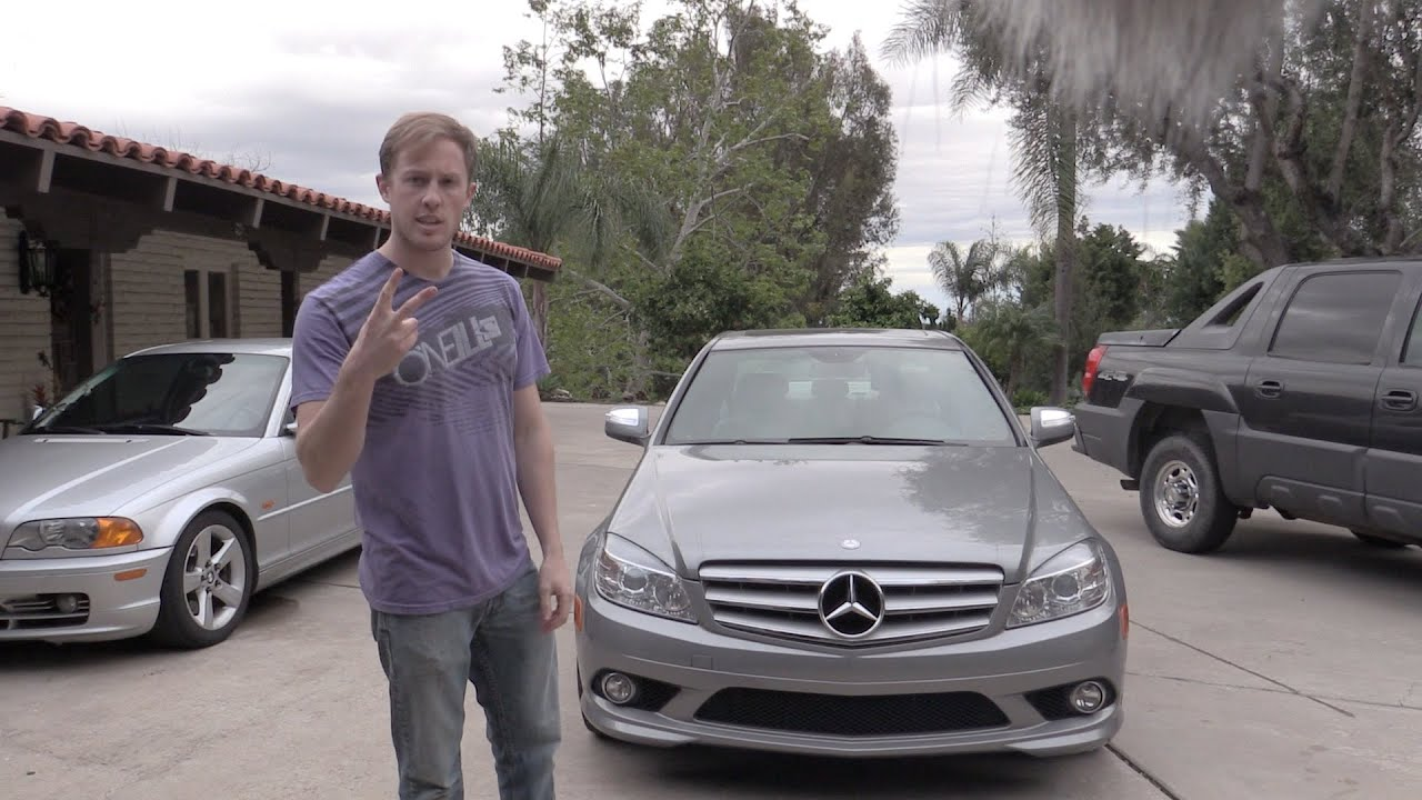 how to change oil in a c300