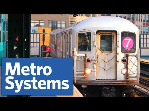 Why don't more U.S. cities have metro systems like New York?