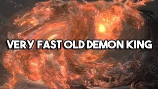 99 Faith Very Fast Old Demon King Underwhelms Slow Casul - Dark Souls 3