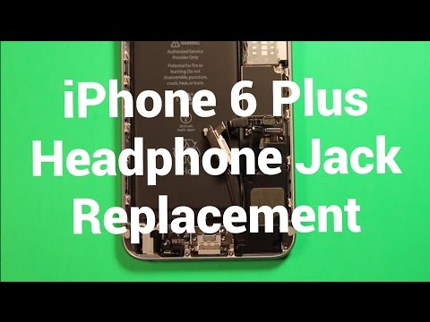 iPhone 6 Plus Headphone Audio Jack Replacement How To Change