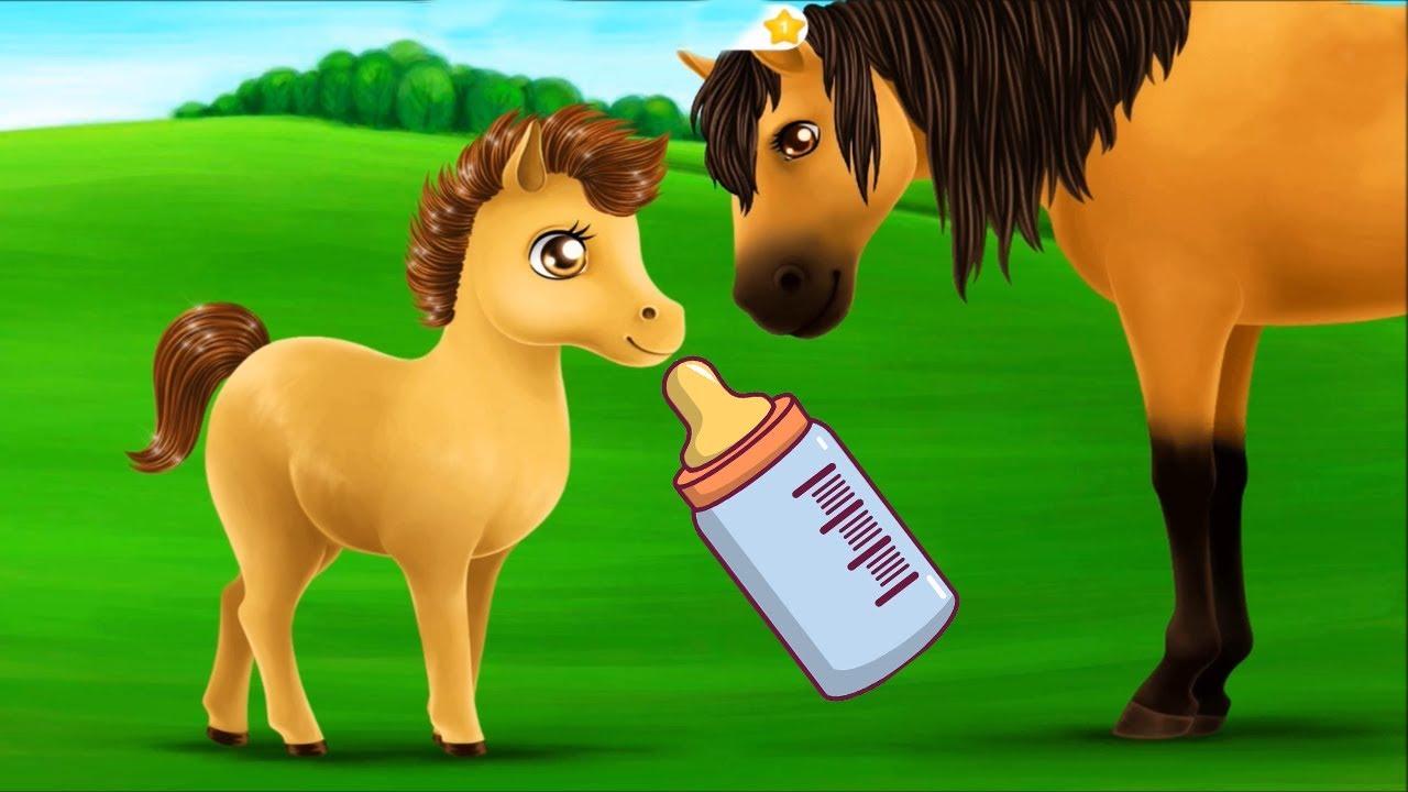Prensesler At Çiftliği Eğlencesi #Çizgifilm Tadında Yeni Oyun