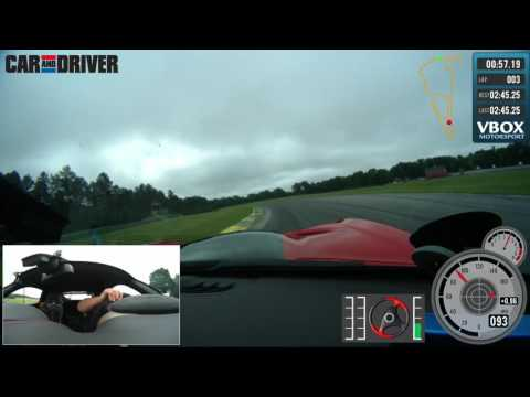 Video VBOX HD2 Lap: 2016 Dodge Viper ACR at Virginia International Raceway