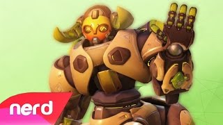 Overwatch Song | Orisa The Brave | #NerdOut! (Gameplay Music...