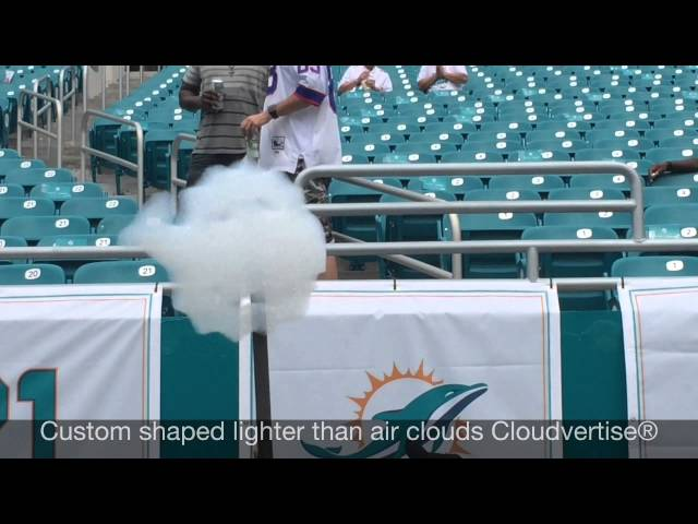 Miami Dolphins Shock Fans with New Technology Cloudvertise.com