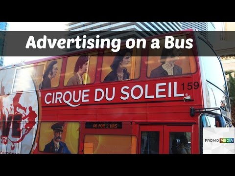 Advertising on a Bus