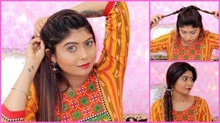3 QUICK & EASY Hairstyles For Wedding   HAIRSTYLES For TEENAGERS   Rinkal Soni