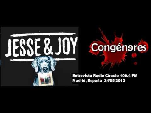 Jesse & Joy - Entrevista en la Radio Congéneres (Madrid, España)