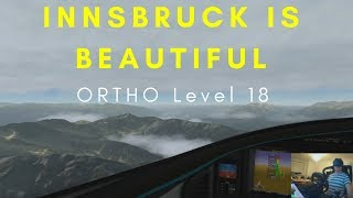 X-Plane 11 VR Innsbruck with Level 18 Ortho   Just Beautiful!