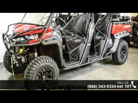 2017 Can Am Defender Max Xt Hd10 Ridenow Sports P