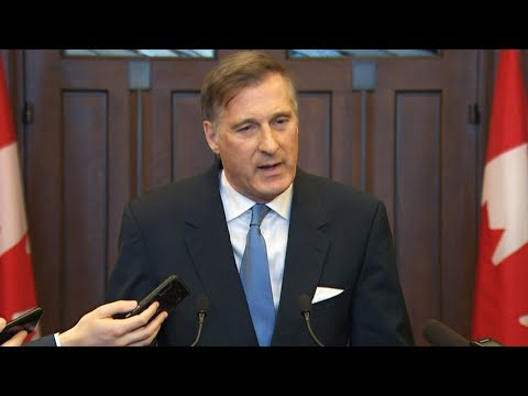 Maxime Bernier on 2019 federal budget: 'It's irresponsible'