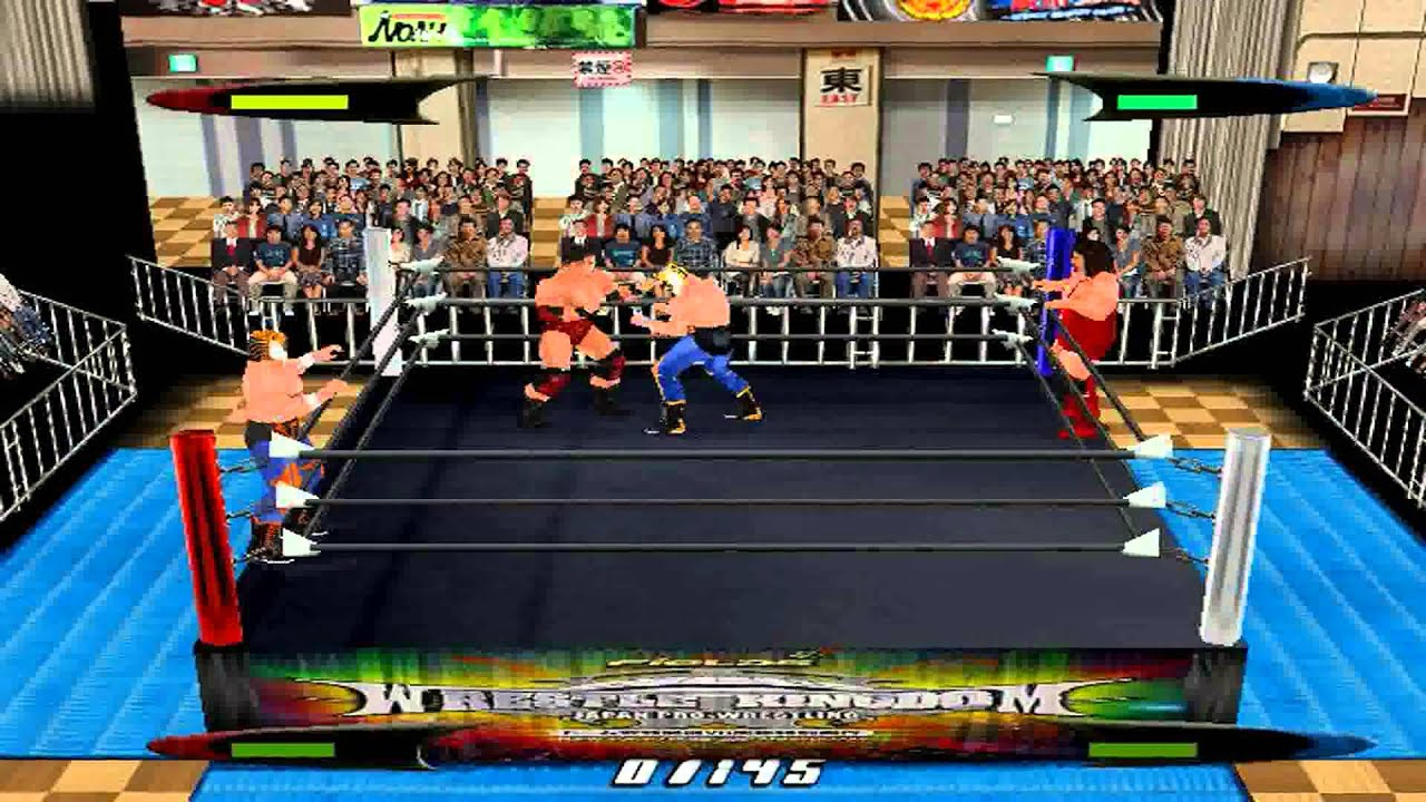 Virtual Pro Wrestling 2 N64 1080P HD Playthrough - with TIGER MASK/TIGER  MASK 2 PT  2