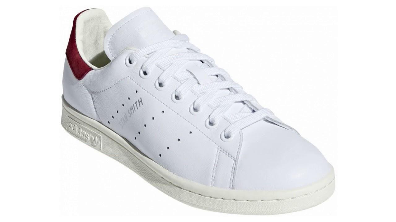 Adidas Stan Smith bílé AQ0887 - YouTube