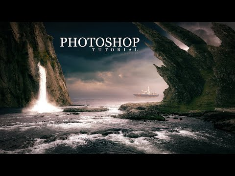 New Matte Painting In Photoshop Tutorial 2019 !!