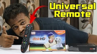 DishTV Universal Remote Control - How To Use?
