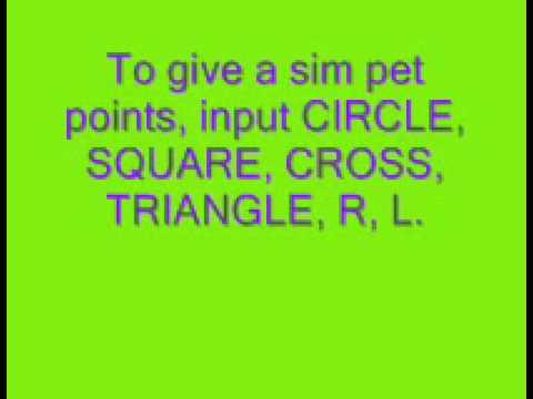 Psp sims 2 pets unlock house layouts