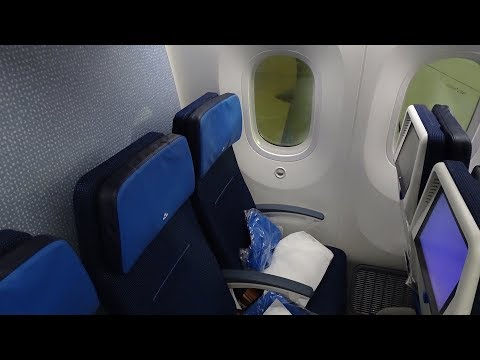 THE KLM DREAMLINER | SALT LAKE CITY-AMSTERDAM | ECONOMY CLASS