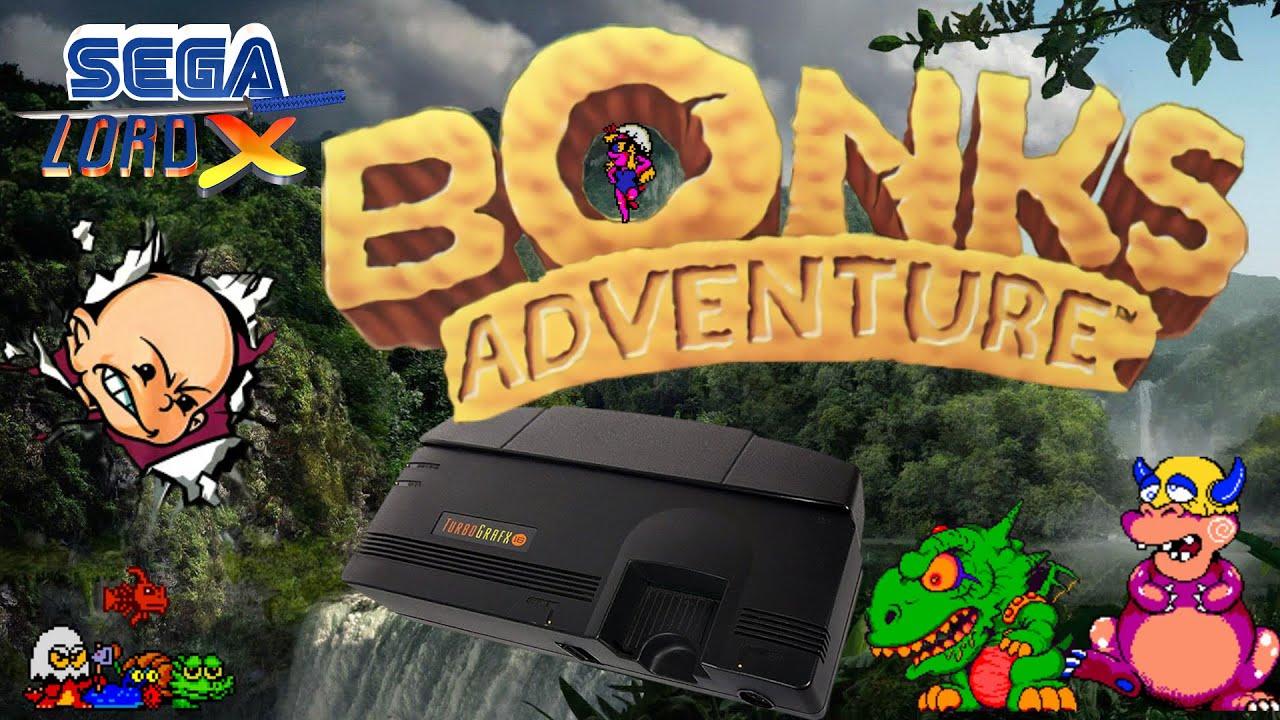 Bonk's Adventure - Turbografx Review