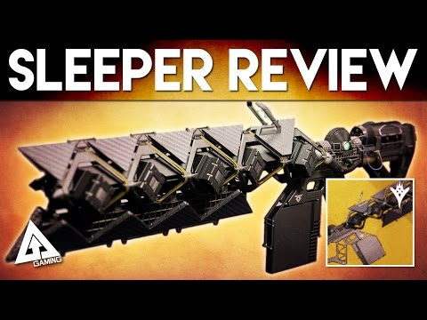 Destiny Sleeper Simulant Gameplay Review - Exotic Fusion Rifle | Destiny The Taken King