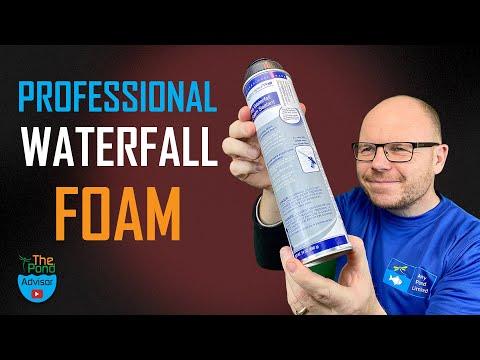 Guide To Using Pond Waterfall Foam - Black Expanding Foam Uk