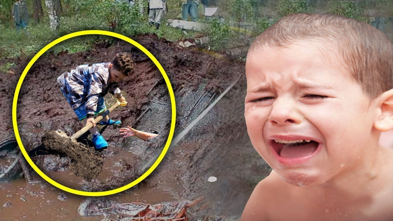 Boy Thinks He Sees A Boat, When He Starts Digging He Found This Something Hard to Believe