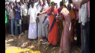 hnss water released to formers by hon ble mf smt paritala sunithamma