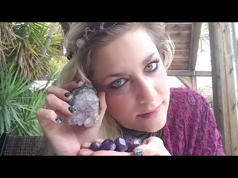 Amethyst, Stone of Power, Help to Twin Flames ~The Fairy Shaenna