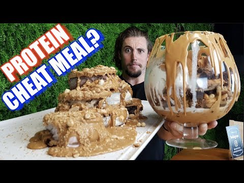 Australia's BIGGEST Protein CHEAT MEAL | Peanut Butter Bar | Ft The Wolf Of Eat Street
