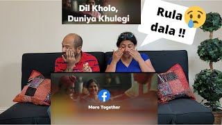 Facebook | More Together - Pooja Didi | Amazing Video !! | Reaction ! 😥💖