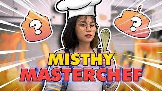 Misthy làm bánh lạ nhất. Phá banh cái bếp || FOOD CHALLENGE