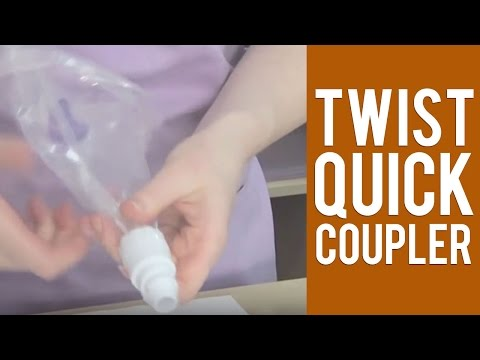 Change Decorating Tips with a Quick Twist - The Twist Quick Coupler by Wilton