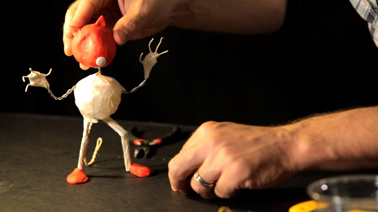 How to Make a Head for Your Puppet | Stop Motion - YouTube