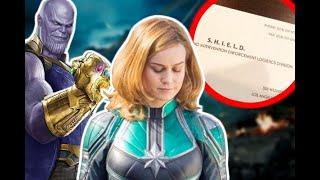 New Captain Marvel Clues Revealed!