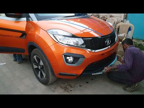 Fitting Accessories&Taking Delivery of Tata Nexon Special Edition Dual Tone|Exterior&Interior